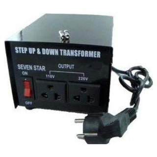 200 Watt Step Up/Down Voltage Transformer Converter - Popularelectronics.com