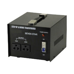 3000 Watt Step Up/Down Voltage Transformer Converter - Popularelectronics.com