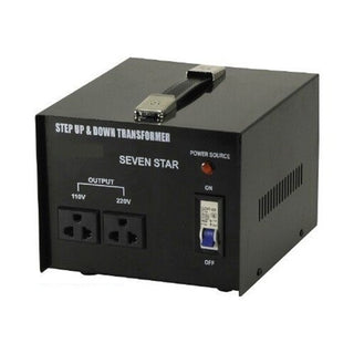 2000 Watt Step Up/Down Voltage Transformer Converter - Popularelectronics.com