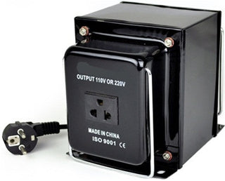 Seven Star THG-3000 Watt Step Up/Down Voltage Transformer Converter - Popularelectronics.com