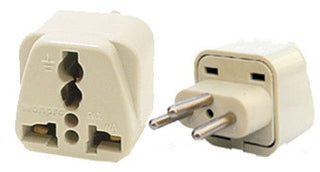 Universal Grounded Travel Plug Adapter For Switzerland (Type J) - Popularelectronics.com