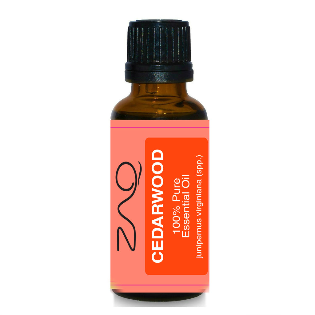 ZAQ Cedarwood Pure 100% Essential Oil 15ml - Popularelectronics.com