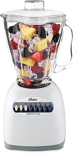 OSTER 6640 10-Speed Blender with Plastic Jar, 48 Ounce, White