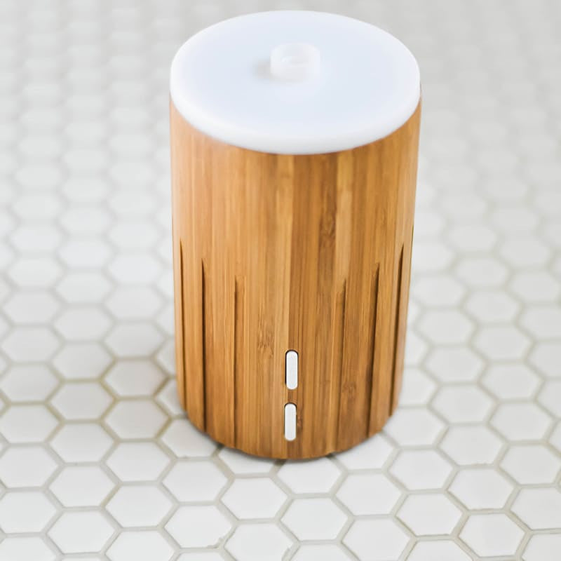 ZAQ Bamboo Aromatherapy Essential Oil Diffuser - Popularelectronics.com