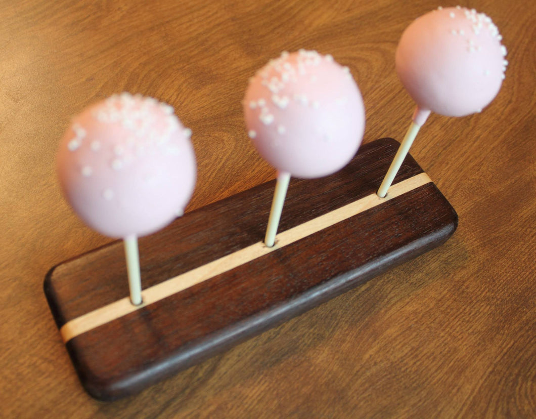Shop Jtwoodworks Birthday Party Cake Pop Stand Three Serving Display