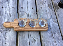 Buy JTWoodworks: Wood beer flight, made in Maine, beer tasting paddle.