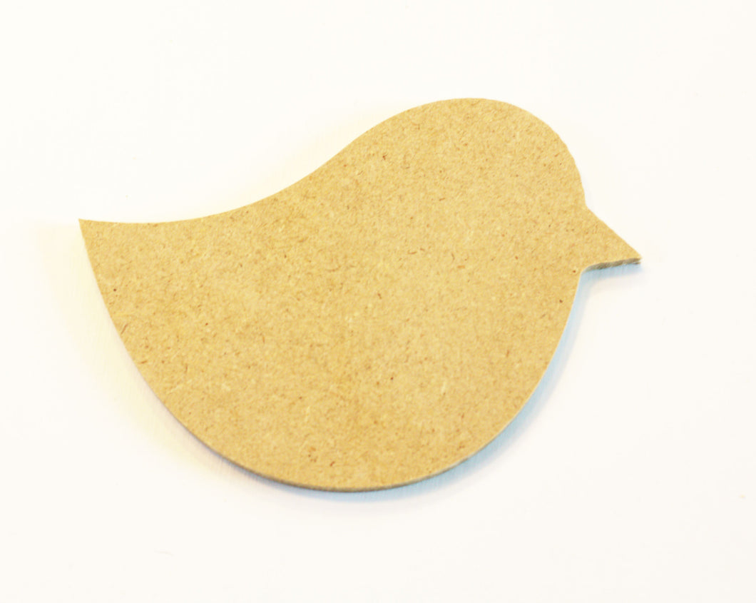 JTWoodworks crafting MDF bird cut-out for DIY crafting creativity, scrapbooking, making signs.