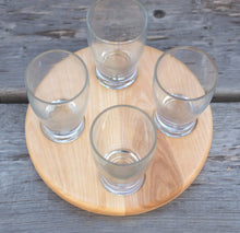 Round Beverage Sampling Flight - Birch