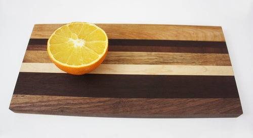 Cutting Board - Birch Maple Walnut Cheese and Bread Board