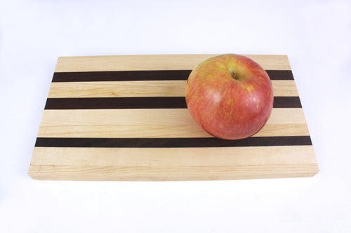 Cutting Board - Serving Tray - Maple with Walnut Accent