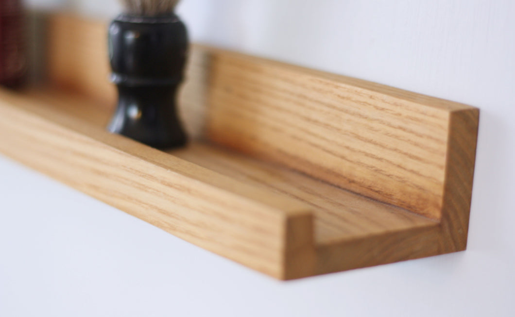 Narrow Floating Shelf - Natural Ash