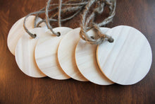 "Rustic Wooden 3"" Rounds - Ready to Decorate"