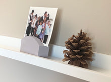 Wood Photo Display Stand