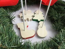 Cake Pop Display Stands - Set of 4 Christmas Shapes