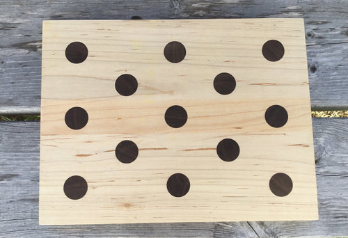 Cutting Board - Polka Dot