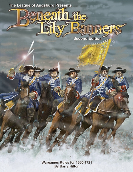 Beneath the Lily Banners 2nd edition Low Resolution PDF - Tablet Friendly - Warfare Miniatures USA