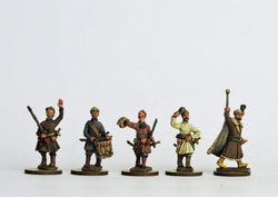 COS02 Cossack Personalities - Warfare Miniatures USA
