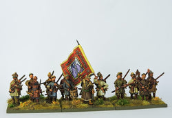 COSBAT01 Cossacks Advancing - Warfare Miniatures USA