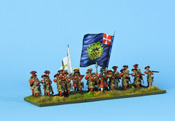 DB2 Danish Battalion Firing and Loading - Warfare Miniatures USA