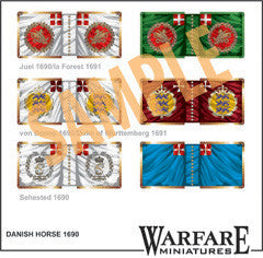 FC113 Danish Cavalry in Ireland 1690-91 - Warfare Miniatures USA