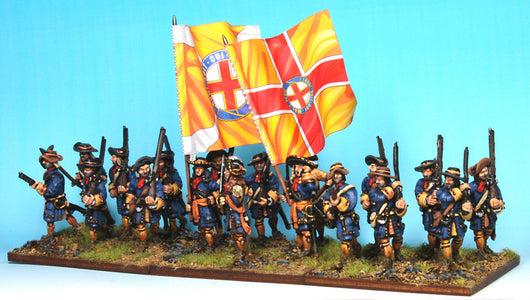 B010 Marching (no pikes) - Warfare Miniatures USA