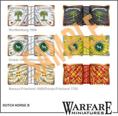 FC101 Dutch Cavalry Standards - Warfare Miniatures USA