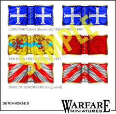 FC112 Dutch & Huguenot Cavalry in Ireland 1690-91 - Warfare Miniatures USA