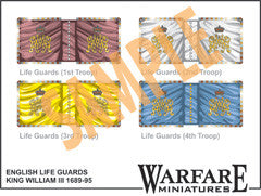 FC103 Dutch Cavalry Standards - Warfare Miniatures USA