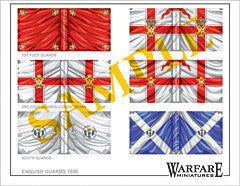 F006 British Guards (Williamite) - Warfare Miniatures USA