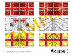 F007 English & Irish (Williamite) - Warfare Miniatures USA