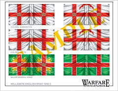 F009 English Regiments (Williamite) - Warfare Miniatures USA