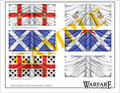 F010 English & Scottish Regiments (Williamite) - Warfare Miniatures USA