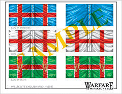 F011 Irish Regiments (Williamite) - Warfare Miniatures USA