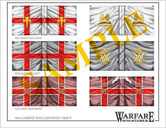 F012 English Regiments (Williamite) - Warfare Miniatures USA