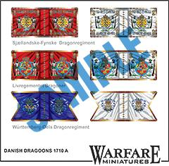 FD015 Danish Dragoons 1710 A - Warfare Miniatures USA