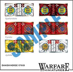 FD011 Danish Horse 1710 B - Warfare Miniatures USA