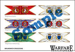 BSK04 Hanover-Brunswick Dragoons B - Warfare Miniatures USA