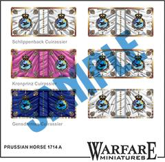 FP020 Prussian Horse 1714 A - Warfare Miniatures USA