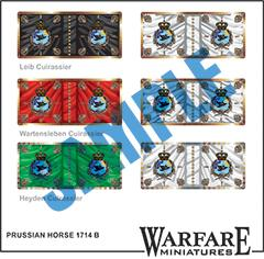 FP021 Prussian Horse 1714 B - Warfare Miniatures USA