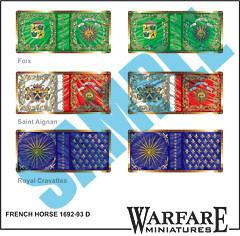 FFC04 French Cavalry 4 - Warfare Miniatures USA