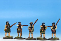 H003 Highlanders with Matchlocks - Warfare Miniatures USA