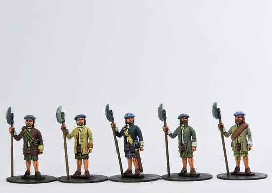 H005 Highlanders Open Handed - Warfare Miniatures USA