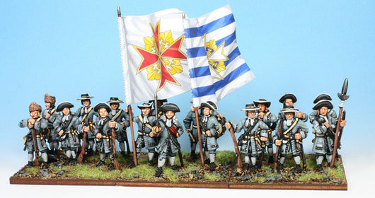 B008 At Ease (no pikes) - Warfare Miniatures USA