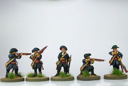 WLOA10 Dismounted Dragoons in Hat - Warfare Miniatures USA