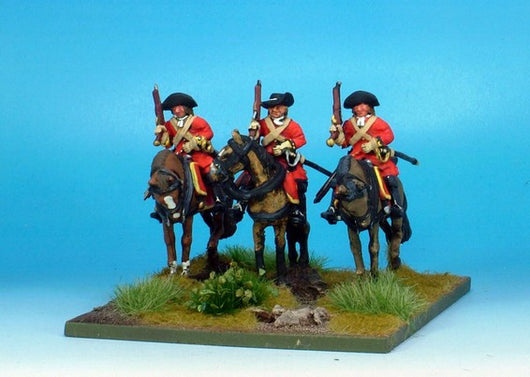 WLOA30 Cavalry Troopers on Standing Horses - Warfare Miniatures USA