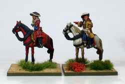 WLOA19 King James II and General St Ruhe (St Ruth) - Warfare Miniatures USA