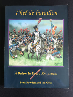 Used - Chef de Battaillion - Warfare Miniatures USA
