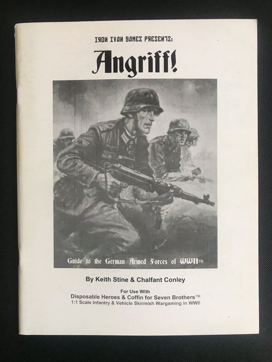 Used - Angriff! by Iron Ivan Games - Warfare Miniatures USA