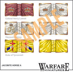 FJC100 Irish Jacobite Cavalry - Warfare Miniatures USA