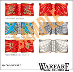 FJC103 Irish Jacobite Cavalry - Warfare Miniatures USA